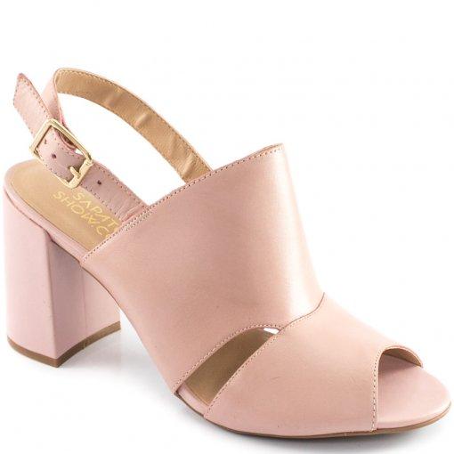 Sandália Salto Baixo Grosso Sapato Show 60636