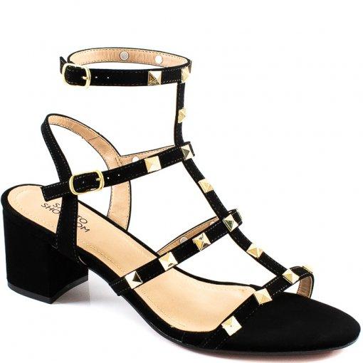Sandália Spikes Número Grande 2020 Sapato Show 1320574
