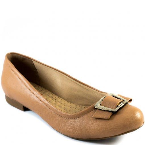Sapatilha Laço Com Fivela Numeração Especial Sapato Show