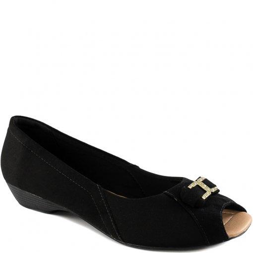 Sapatilha Peep Toe Numeração Grande Sapato Show 5576