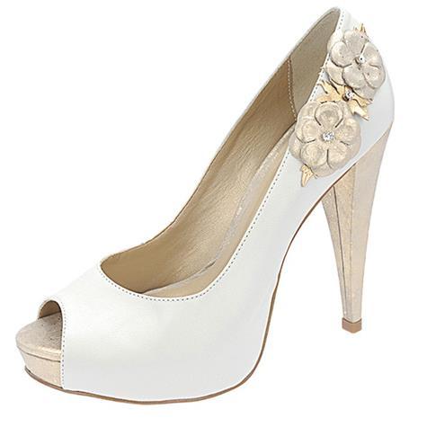 Sapato Feminino Belmon - 536 Off White - 33 ao 43