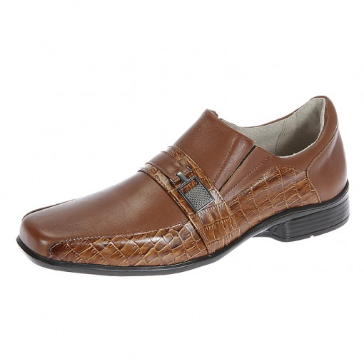 Sapato Masculino Italeoni - 916 Sponj Castor