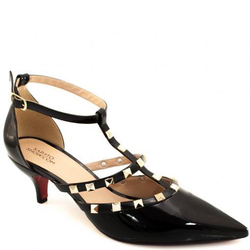 Scarpin Spikes Numeração Especial Sapato Show 1060008e