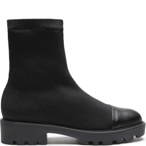 Sock Boot Feminina Tratorada Knit Schutz S206550010