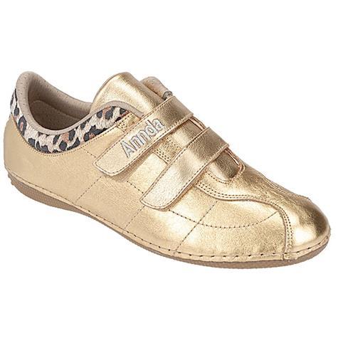Tênis Feminino Confort Annda Ouro - 1105