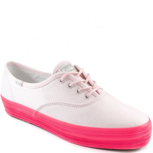 Tênis Flatform Keds Triple Cotton