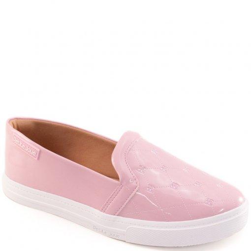 316d41735 Tênis Slip On Feminino Verniz Petite Jolie 2303 - Pink