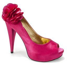 Peep Toe Belmon para Festa - 296 - Pink - 33 ao 43.