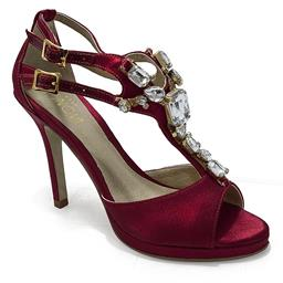 Sandália para Festa Belmon - M-19 - Vermelho - 33 ao 43.