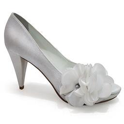 Peep Toe de Noiva Belmon - 13184 - Branco - 33 ao 43.
