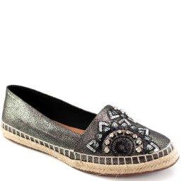 Alpargata Metalizada Strass Sapato Show 390506