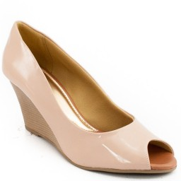 Anabela Feminina Número Grande Sapato Show Ana708