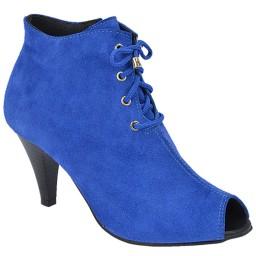 Ankle Boot Feminina Heinze - 1058 Azul-01