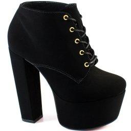 Ankle Boot Lita Numeração Especial Sapato Show 1310101
