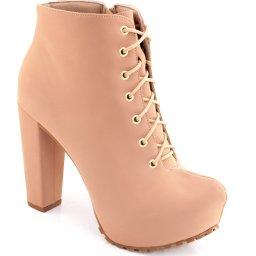 Ankle Boot Lita Tratorada Numeração Grande Sapato Show 1120056e