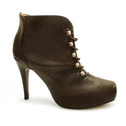 Ankle Boot Moda Feminina Coleção Inverno Miucha 1285