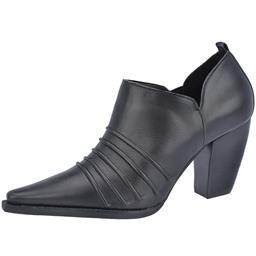 Ankle Boot Plissado Belmon - 9717 - Preto