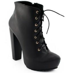 Ankle Boot Tratorada Sapato Show 11202