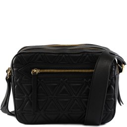 Bolsa Crossbody Lilly Triangle Matelassê Schutz S500100103