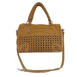 Imagem do produto - Bolsa Feminina em Couro - Poucelle 2036
