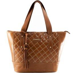 Bolsa Shopping Matelassê Poucelle 2394
