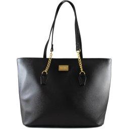 Bolsa Tote Femininna Shopper Com Correntes Via Uno BLS-0004