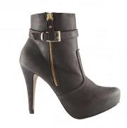 Bota Feminina Ankle Boot Naturali - 788011