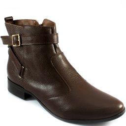 Bota Rasteira Tiras Cruzadas 2019 Sapato Show 1917602