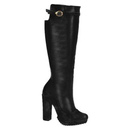 Bota Salto Grosso Over Knee Bonnie&Clyde - 60300 - Preto