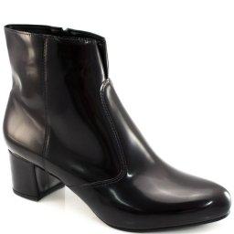 Botinha Verniz Numeração Grande Sapato Show 1014