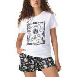Camiseta Feminina Border Floral Boyfriend Vans V470270344