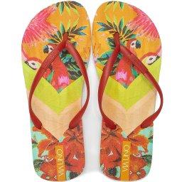 Chinelo Flip Flop Feminino Estampado Verão Via Uno 526020