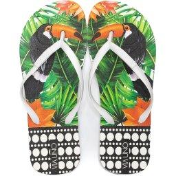 Chinelo Flip Flop Feminino Tropical Verão Via Uno 526021