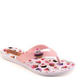Chinelo Pug Cupcake Sapato Show K3030300237