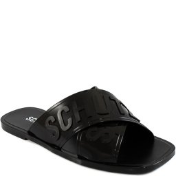 Chinelo Slide Bico Quadrado Jelly's Cross 2021 Schutz S211440001