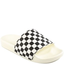 Chinelo Slide-On Feminino Checkerboard Vans VNB004LG27K