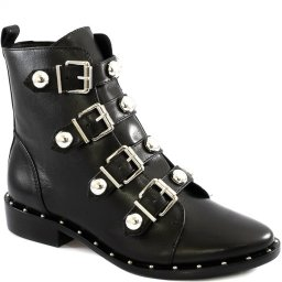 Imagem do produto - Combat Boot Feminina Buckles Winter Schutz S200710020