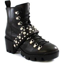 Coturno Block Heel Tratorado Studs Schutz S205570026