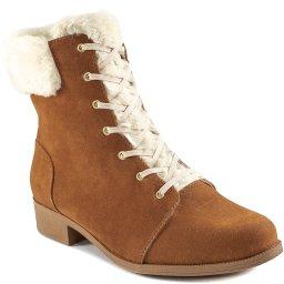 Coturno Forrado Com Pelo Numeração Grande Sapato Show 020230