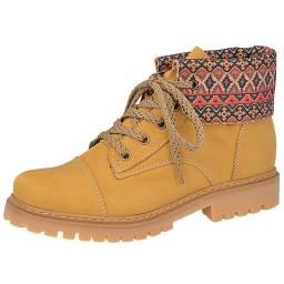 59ff1d800ea Coturno Yellow Boot Via Telli - 705