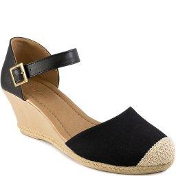 Espadrille Corda E Crochê Número Grande Sapato Show 8127564