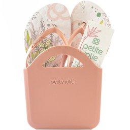 Kit Chinelo + Vaso + Tag Com Semente Petite Jolie Pj5087