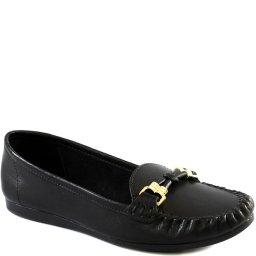 Mocassim Confortável Feminino Em Couro Sapato Show 21420