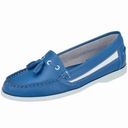 Mocassim Feminino Azul Numeração Especial Milla - 2352 Azul