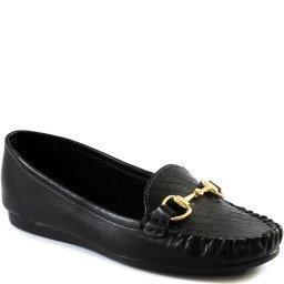Mocassim Feminino Confortável Com Fivela Sapato Show 21418