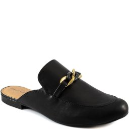 Mule Com Correntes Numeração Especial Sapato Show 300195