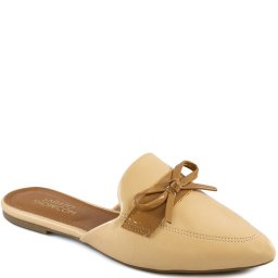 Mule Feminino Laço Bico Fino Sapato Show 12326