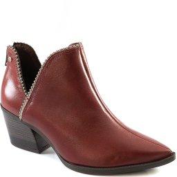 Open Boot Western Feminina Salto Bloco Inverno Tanara T4241