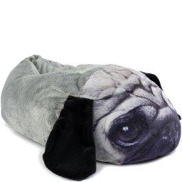 Pantufa Fechada Pug Dog Inverno 2021 Europa 683
