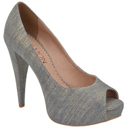 Peep Toe Belmon - 517 Metal